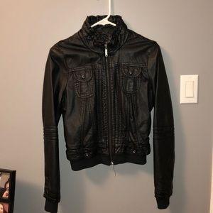 3/$30 Leather jacket